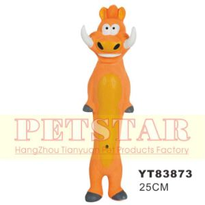 Hot Sale Animal Shape Rubber Dog Toy (YT83873) pictures & photos