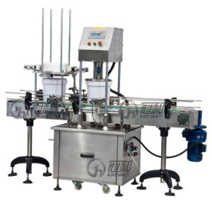 Automatic Pail Capping Machine for Auto Cover-Feeding-Pressing pictures & photos