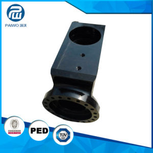 CNC Machining Forged Precision Ck45 Hydraulic Parts for Industry pictures & photos