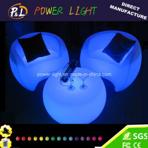 Plastic Glowing Sofa LED Illuminated Furniture pictures & photos