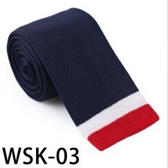 Men′s Fashionable 100% Polyester Knitted Tie (WSK-03) pictures & photos