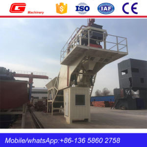 Popular Mobile Concrete Cement Mixing Plant in Pakistan (YHZS25) pictures & photos