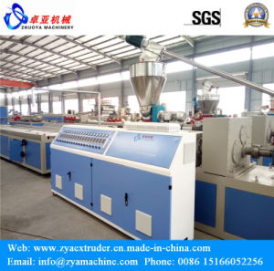 PP Wood Plastic Composite Outdoor Profile Production Line pictures & photos