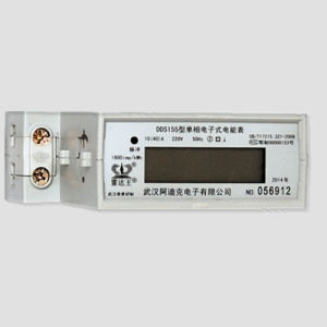 Standard Single Phase DIN Rail Kwh Energy Meter pictures & photos