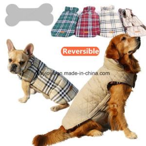 Unisex Windproof Reversible Dog Jacket for Winter pictures & photos