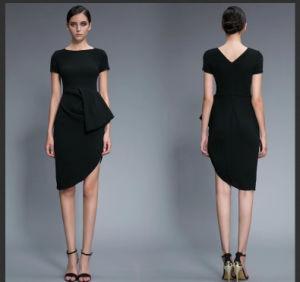 China Fashion Women′s Medium Length Sexy Lady Evening Dress ...