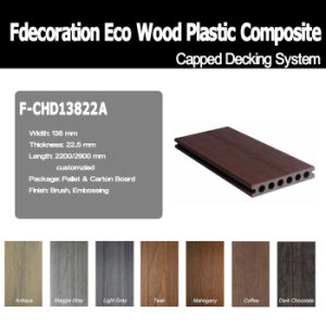 Mold Resistant Wood Plastic Composite WPC Floor Co-Extrusion Decking pictures & photos