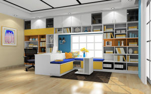 Pritical White Color Book Case Study Room Furniture (zj-005) pictures & photos
