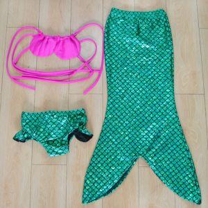 Children Three-Pieces Mermaid Swimming Swimwear pictures & photos