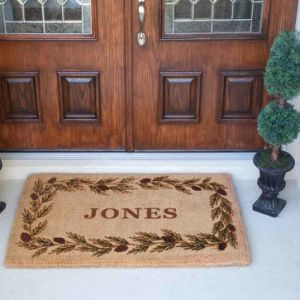 Custom Logo Promotional Giveaway Gifts Promotion Corporate Items Ideas Coco Coir Coconut Fiber Printed/Printing/Print Rug Carpets Door Floor Mats Doormat pictures & photos