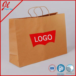Fashion Shopping Paper Bags Craft Paper Bags Kraft Paper Bags with Logo pictures & photos