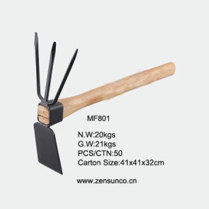 A3 Steel Head Wooden Handle Garden Hoe pictures & photos