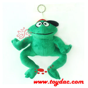 Plush Comic Frog Key Ring Toy pictures & photos