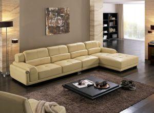 modern Design Living Room L Shape Sofa pictures & photos