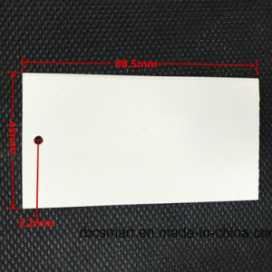 Custom Clothing Label RFID Paper Price Hang Tag for Garments pictures & photos