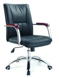 Ergonomic Modern Office Furniture Leather Swivel Executive Office Chairs with Footrest pictures & photos