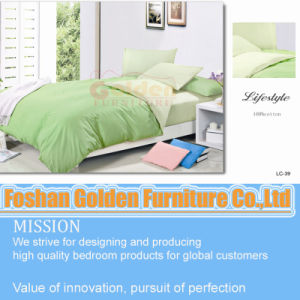 One Color Quilt Cover Set Bed Linen pictures & photos