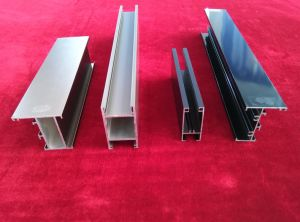 6063 Extruded Aluminium Door Frames Made in China pictures & photos