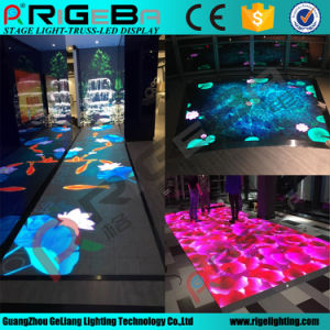 P6.25 LED Video Dance Floor Stage Display Screen Floor Light pictures & photos