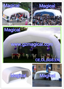 White Inflatable Air Roof Tent, Arch Tent (MIC-961) pictures & photos