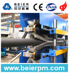 PE Double Wall Corrugated Pipe Production Line pictures & photos