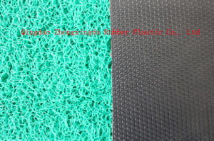 3G PVC Double & Single Color Floor Mat with Diamond Backing pictures & photos