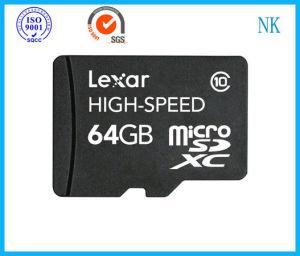 Lexar 64GB 64G Microsdxc Micro Sdxc SD TF Mobile Flash Memory Card Uhs-I C10
