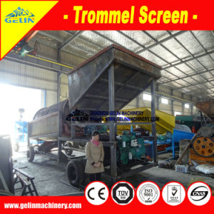 Complete Full Sets Alluvial Sand Processing and Washing Machine Mobile Gold Wash Plant pictures & photos