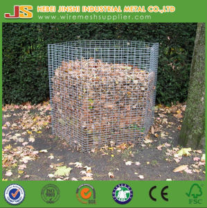 High Quality Powder Coated Wire Mesh Leaves Composter pictures & photos
