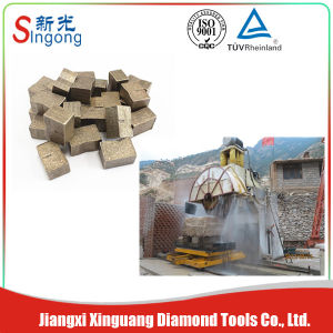 High Efficiency Block Type Diamond Cutting Segment pictures & photos