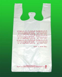 HDPE Printed Plastic Vest Carrier Bag pictures & photos