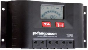 Fangpusun Pr2020 12V/24V 20A Solar Energy Hybrid Photovoltaic System Charge Regulator Controllers Tracker Warranty 2 Years