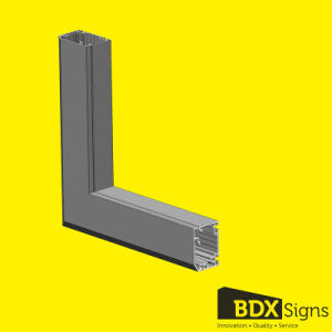 Static Signs Aluminum Profile for Outdoor Light Box-#50 pictures & photos
