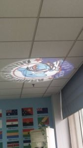 Gobo Projector 8 Image Logo Can Project on The Wall 80W pictures & photos