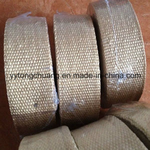 Heat Treated Texturized Fiberglass Insulation Tape pictures & photos