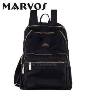 Fabric with Leather Fashion Backpack12528