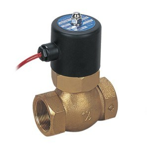 Brass Steam Water Solenoid Valve