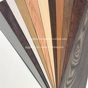 UV Coating Non-Slip Plastic Floor PVC Laminated Flooring Tiles pictures & photos