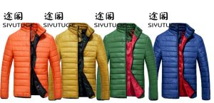 Mens Down Fashion Light Weight Bright Color Jacket pictures & photos