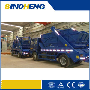 Sinotruk HOWO Skip Loader Garbage Truck with 10cbm Tank pictures & photos