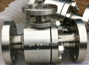 2PC API Forged Steel Ball Valve