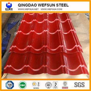 PPGI /Prepainted Galvanized Corrugated Steel Sheet for Roofing pictures & photos