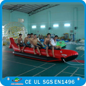 Inflatable Towable Red Shark Boat for Water Games pictures & photos