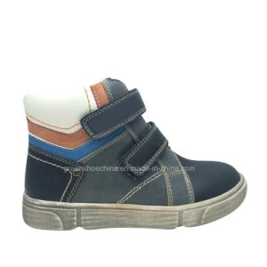 High Quality PU Boy Winter Boots pictures & photos