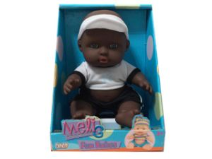 "8.5"" Black Baby Doll with Perfume pictures & photos"