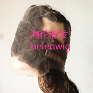 Virgin Hair 360 Full Front Lace Wig for White Women