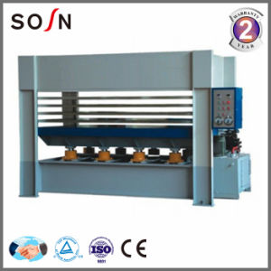 5 Layers Hydraulic Hot Press Machine for Board Making pictures & photos
