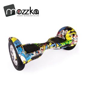 "Factory Wholesale 10"" Electrical Self Balancing Scooter with LED Light"
