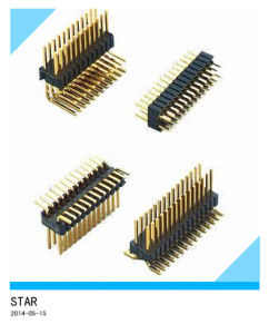 China Factory 180 Single /Double Row Male/Female Pin Header pictures & photos