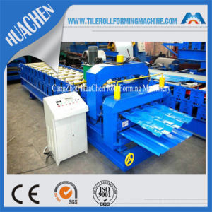 Metal Glazed Tile Making Machine for Roof and Wall